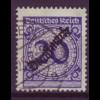 Dt. Reich Dienst D 102 Einzelmarke 20 Pf gestempelt /3