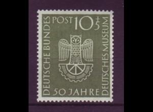 Bund 163 50 Jahre Deutsches Museum München 10+ 5 Pf postfrisch