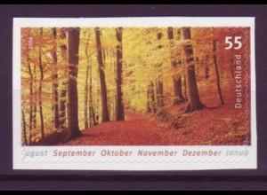Bund 2576 SELBSTKLEBEND aus MH 65 Die vier Jahreszeiten 55 Cent postfrisch