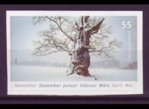 Bund 2577 SELBSTKLEBEND aus MH 65 Die vier Jahreszeiten 55 Cent postfrisch