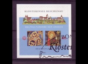 Bund 2642 SELBSTKLEBEND aus MH 71 Klosterinsel Reichenau 45 Cent gestempelt