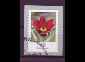 Bund 2971 SELBSTKLEBEND aus Rolle Blumen Kuhschelle 58 C gestempelt