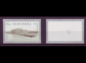 Bund 2552 Rollenmarke SB mit gerader Nr. Geburtstag Karl. F. Schinkel 55 C **
