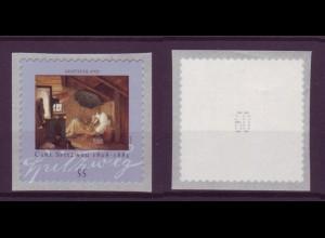 Bund 2648 Rollenmarke SB mit gerader Nr. Carl Spitzweg 55 C postfrisch