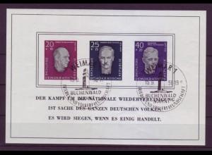 DDR Block 15 Einweihung der Nationalen Gedenkstätte Buchenwald mit ESST