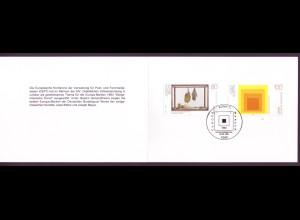 Bund 1673-1674 Ministerkarte Zeitgenössische Kunst 1993 ESST