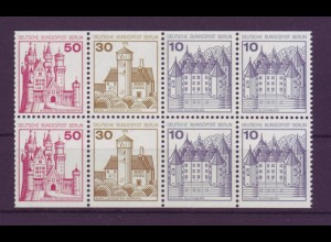 Berlin Heftchenblatt 18 Burgen + Schlösser postfrisch