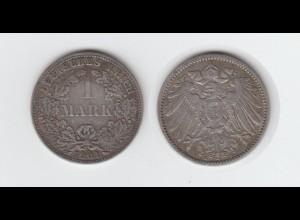 Silbermünze Kaiserreich 1 Mark 1901 A Jäger Nr. 17 /15