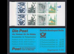 Berlin Markenheftchen 15 SWK 1989 postfrisch
