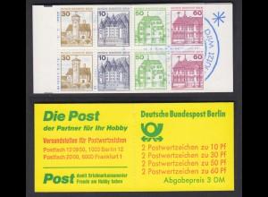Berlin Markenheftchen 12ca I Burgen + Schlösser 1980 postfrisch