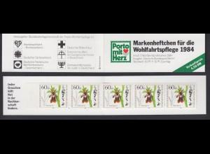 Berlin Wohlfahrt Markenheftchen 5x 725 60+ 30 Pf 1984 postfrisch