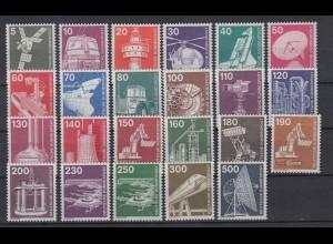 Bund 846-1138 Industrie+Technik 23 Werte postfrisch