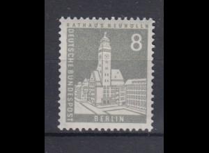 Berlin 143 wv RM Berliner Stadtbilder 8 Pf postfrisch