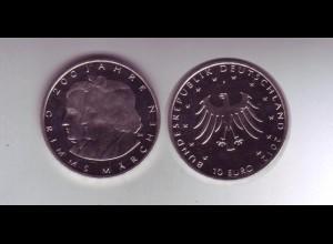 Gedenkmünze 10 Euro 2012 200 Jahre Grimms Märchen stempelglanz