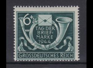 Dt. Reich 904 Tag der Briefmarke 6+ 24 Pf postfrisch