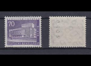 Berlin 152 xv RM mit gerader Nummer Berliner Stadtbilder 70 Pf postfrisch