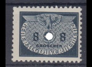 Generalgouvernement 17 Dienstmarken 8 Gr postfrisch