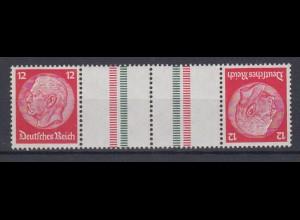 Dt. Reich Zusammendruck KZ 23.1 Hindenburg Mi.Nr. 519/519 12 Pf postfrisch