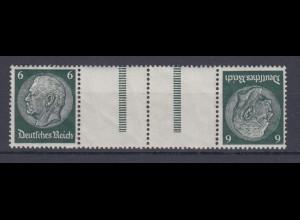 Dt. Reich Zusammendruck KZ 22 Hindenburg Mi.Nr. 516 6 Pf postfrisch /1