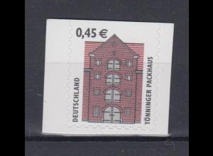 Bund 2303 BC SELBSTKLEBEND oben gerade SWK 45 Cent postfrisch