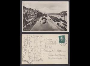 Ansichtskarte Koblenz a. Rhein Rheinwerft mit Sonderstempel