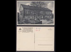 Ansichtskarte Paul Zacharias Jugendherberge Bad Schandau Sachsen nicht gelaufen