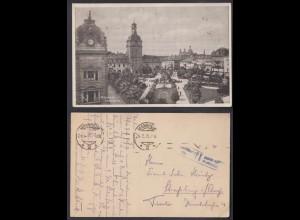 Ansichtskarte Mannheim Paradeplatz 1918