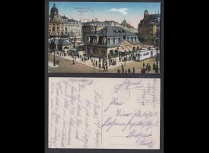 Ansichtskarte Frankfurt a. Main Hauptwache 1917