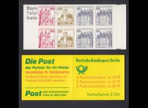 Berlin Markenheftchen 10a II Burgen und Schlösser 1977 postfrisch