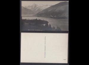 Ansichtskarte Zell am See g.v. Kitzsteinhorn nicht gelaufen