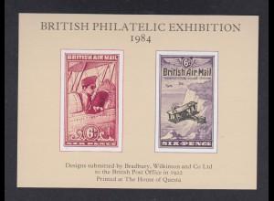 Vignette British Philatelic Exhibition 1984