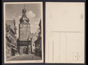 Ansichtskarte Coburg Judentor nicht gelaufen