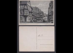 Ansichtskarte Bacharach am Rhein am Marktplatz nicht gelaufen
