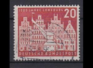 Bund 230 1000 Jahre Lüneburg 20 Pf gestempelt /2