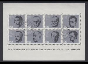 Bund Bl. 3 Widerstand 20. Juli 1944 Tagesersttagsstempel München 20.Juli.1964 /1