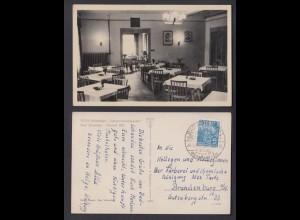 Ansichtskarte FDGB Ferienheim Schrammsteinbaude Bad Schandau