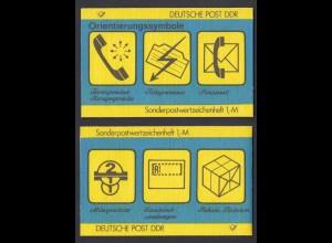 DDR SMHD 32 Orientierungssymbole mit 10x Mi.Nr. 3156 postfrisch