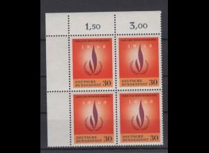 Bund 575 Eckrand links oben Jahr der Menschenrechte 30 Pf postfrisch
