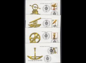 Bund FDC`s mit 1090-1093 Jugend Optische Instrumente mit ESST Bonn 10.4.1981