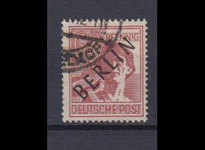 Berlin 14 Schwarzaufdruck 60 Pf gestempelt /2