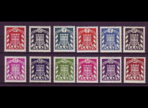 Saarland D 33-44 Dienstmarken postfrisch