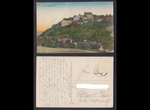 Ansichtskarte Schloß Mansfeld Burganlage in Mansfeld 1927