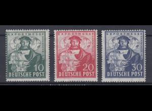 All. Besetzung Am.+ Britische Zone 103a-105a Exportmesse Hannover postfrisch