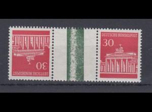 Bund 508 Zusammendruck KZ 5 Brandenburger Tor postfrisch