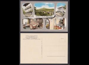 Ansichtskarte Gasthaus u. Pension Rhönblick Philippsthal Werra Mehrbildkarte