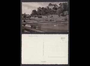 Ansichtskarte Blankenheim Ahr Burg nicht gelaufen