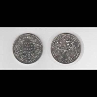 Medaille Natum Videte Regem Angelorum, Adestes Fideles /M20