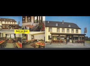 Ansichtskarte Doppelkarte Hotel zur Post Longkamp Hunsrück nicht gelaufen