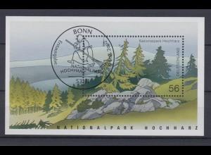 Bund Block 59 Nationalpark Hochharz 56 C Ersttagsstempel Bonn