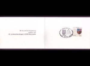 Bund 1712 Ministerkarte Saarland 1994 ESST
